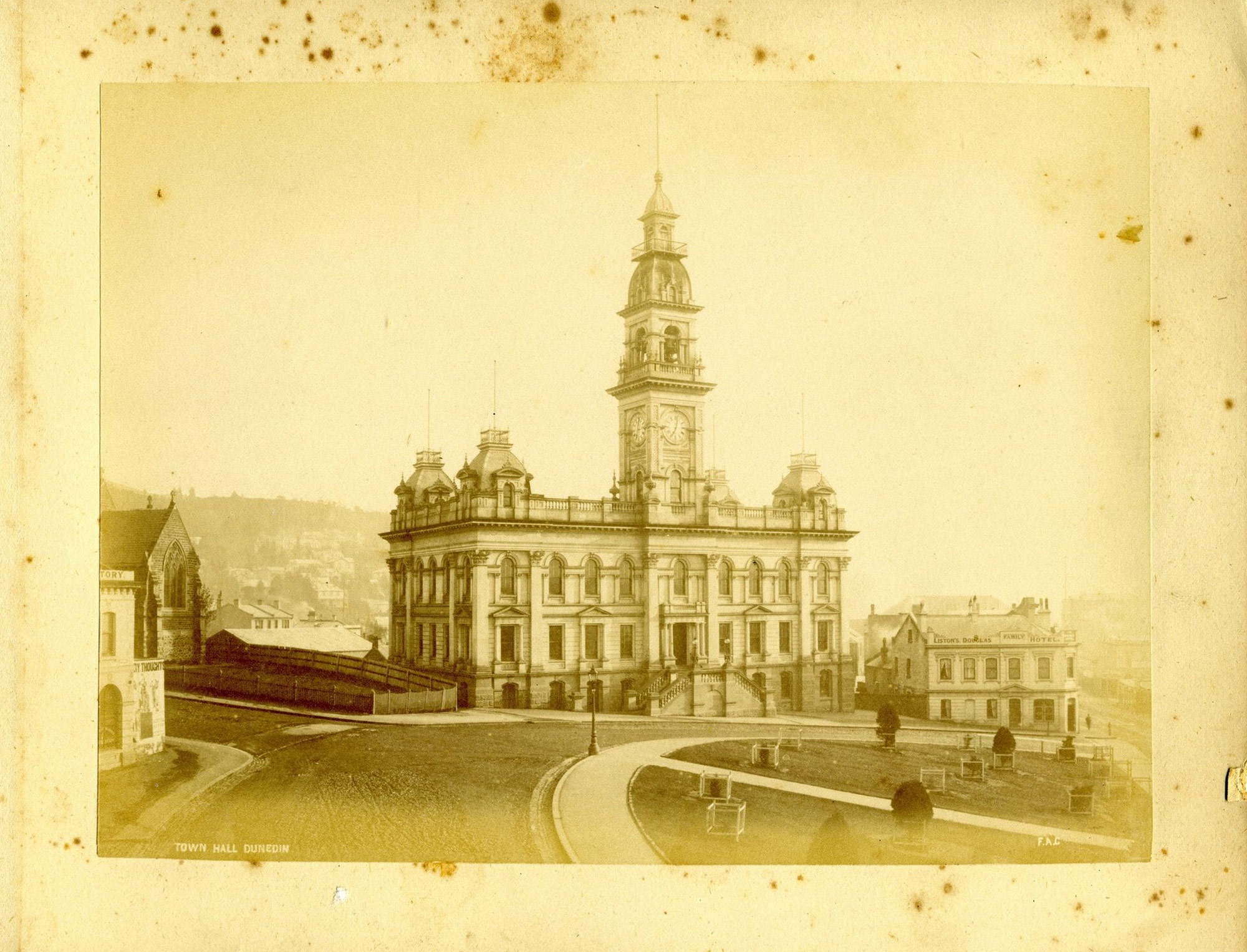 The Municipal Chambers built in 1878