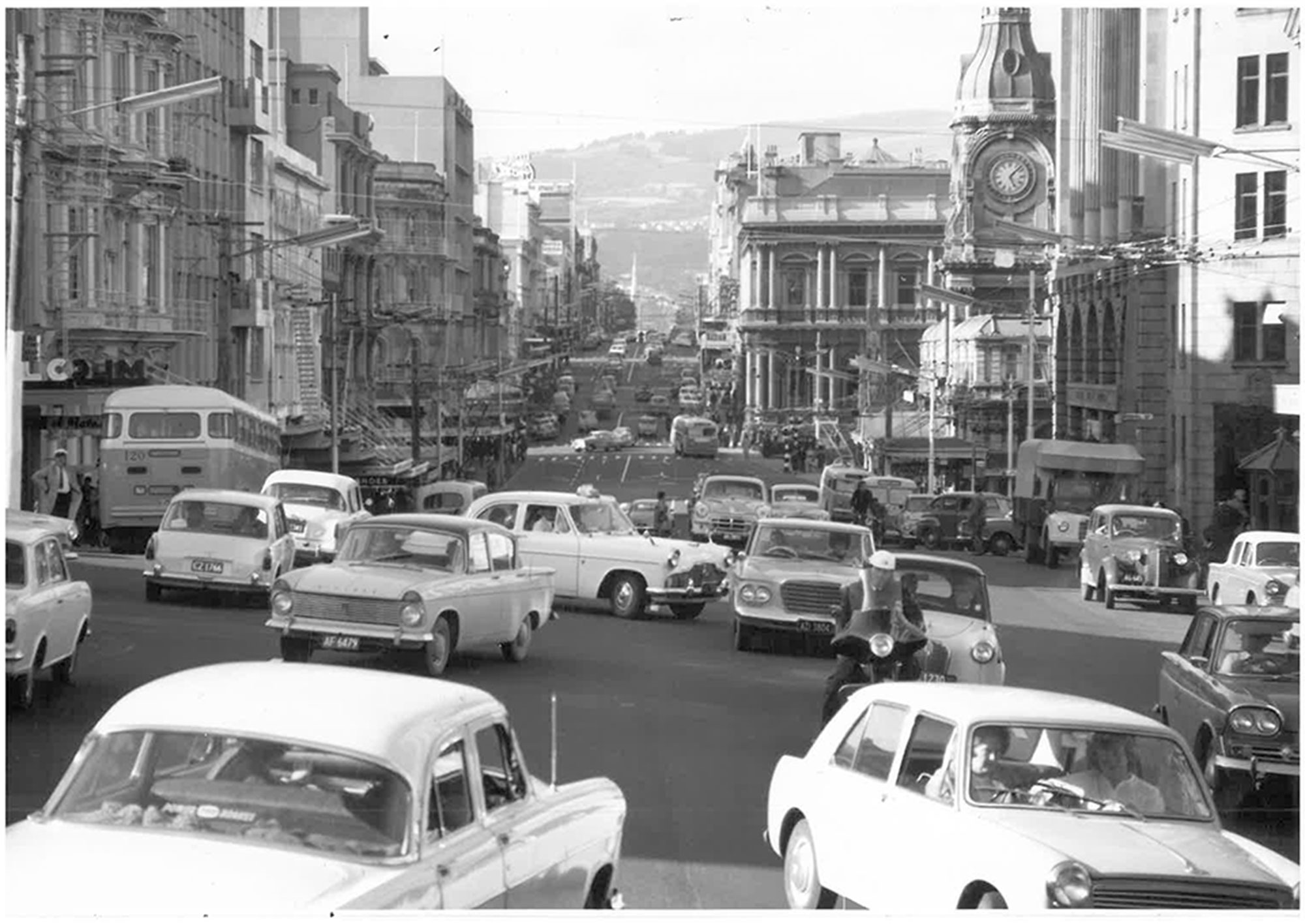 Princes St in the 1960s.